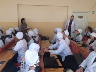 Professional orientation in the Jewish Medical School