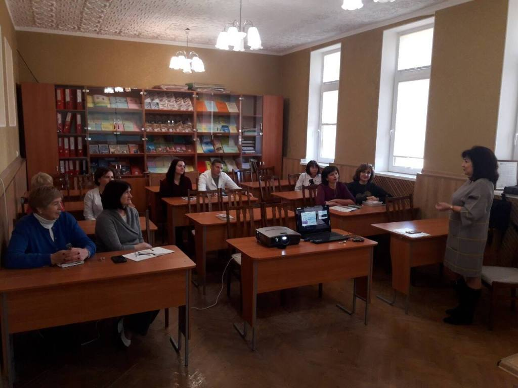 """11.11.2018 Teachers of the department listened to the lecture """"The oratorical mystery of the teacher"""""""
