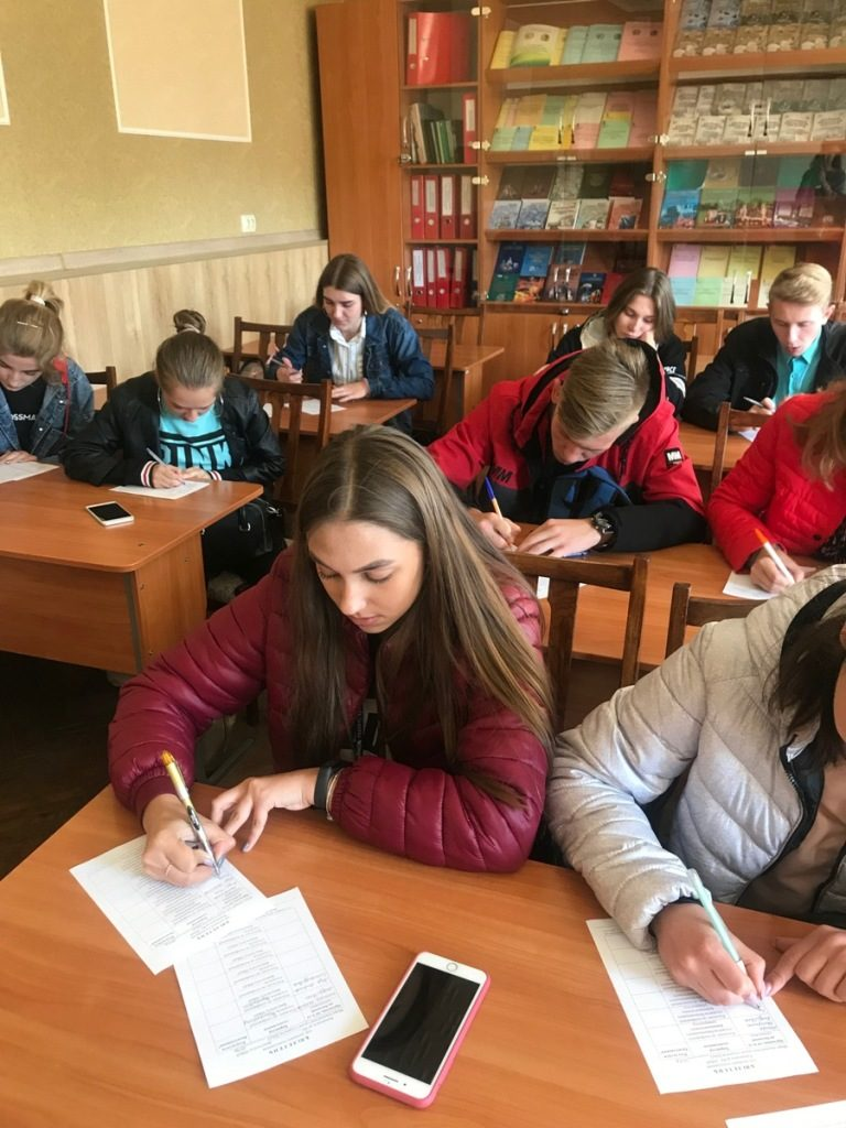 On October 3  vote was taken to select students' candidates for the higher student self-government body