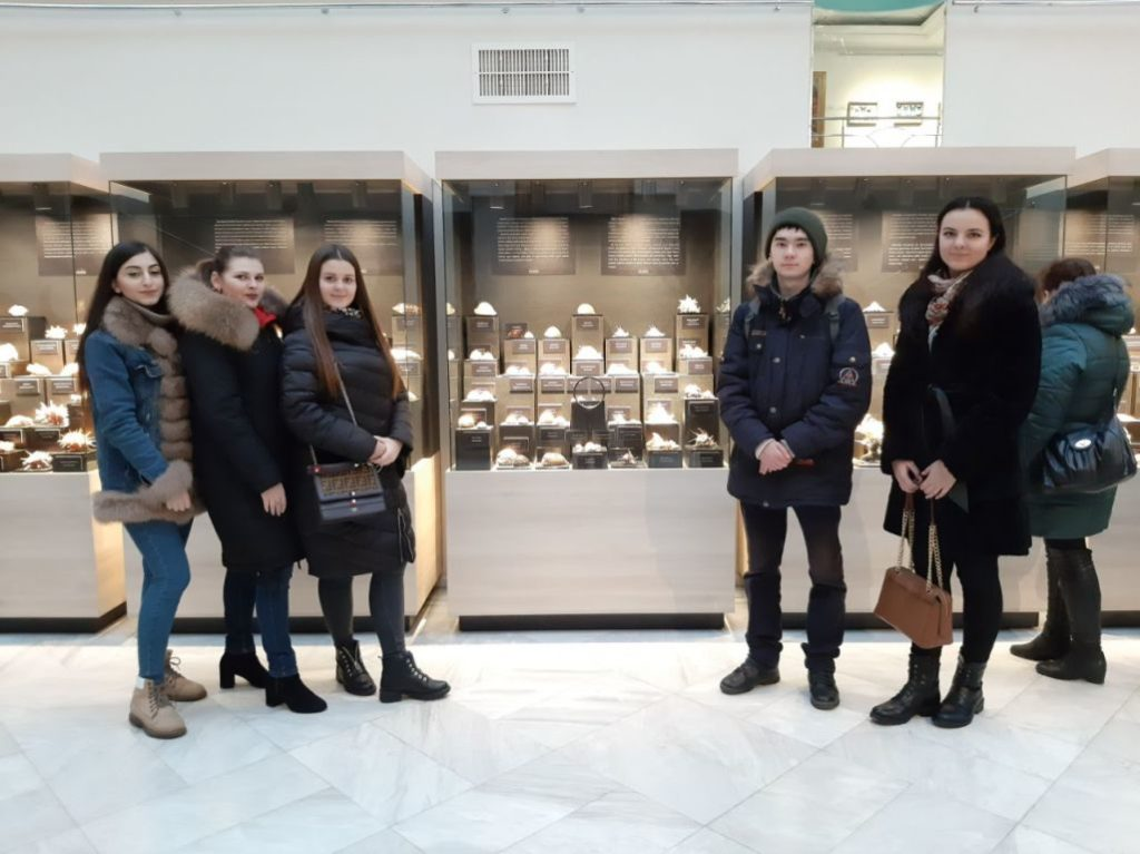 """On December 18 visited the unique exhibition """"Chronicle of the Planet"""""""