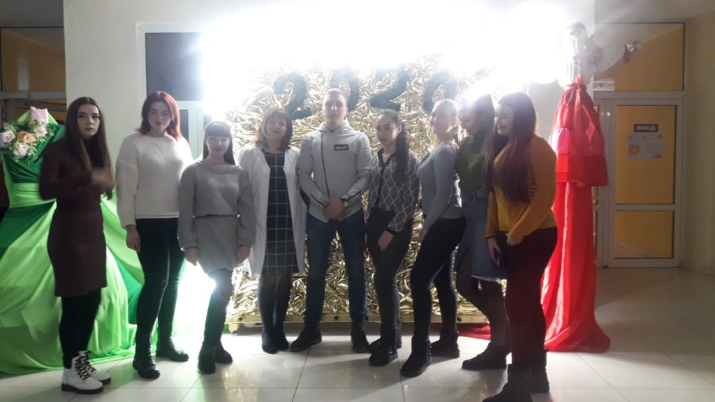 02/25/2020 Curated and  students of higher education celebrated celebrated the Maslenitsa
