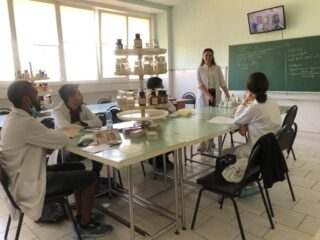 September 17, 2020 assoc. Konovalenko IS congratulated 3rd year students of group 1 * on the Day of the Pharmaceutical Worker