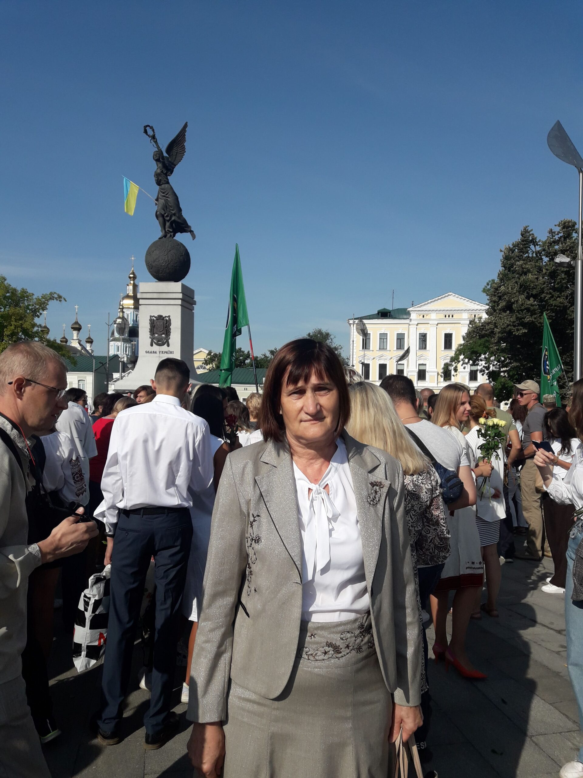 August 24, 2021 аssoc. Bogutskaya E. Y. took part in the celebration of the Independence Day of Ukraine